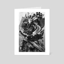 Samurai Girl - Art Card by Peter Lucier