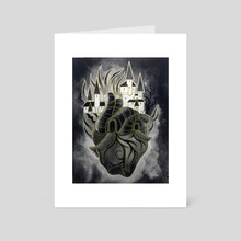 Heart of Gold - Art Card by DarkLetter Books