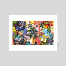 story of painting  - Art Card by Maethawee Chiraphong