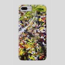 Feathers Falling - Phone Case by PAUL BUTTERWORTH