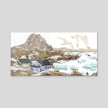 Greenland - Acrylic by Lara Paulussen