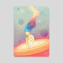 Cosmogony - Canvas by Ashenwave