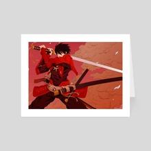 Drifters Anime - Art Card by Manga Lover