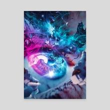The Eye 3 - Canvas by Marischa Becker
