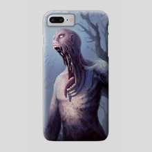 2-2 Black Zombie - Phone Case by Alison Johnstun