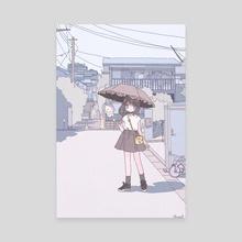Brand New Parasol - Canvas by Noel YOSHIDA