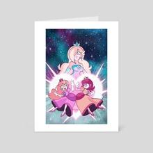 Super Smash Gals - Art Card by Matt Froese