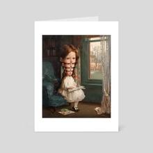 Ego / Self esteem - Art Card by matthieu Bourel