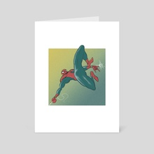 Spidey - Art Card by Chris Taylor