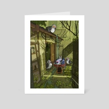 Pidoves - Art Card by Cindy