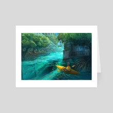 Mangrove City - Art Card by Simon Sweetman