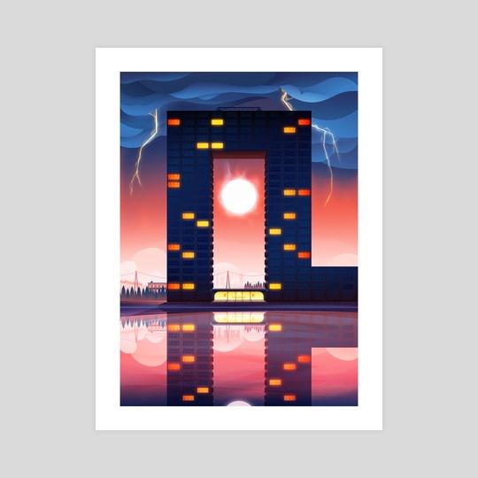Tasmantoren Groningen by Cody Muir