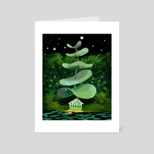Light House - Art Card by Shirley Chan