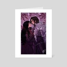 Cregan and Aly  - Art Card by NaomiMakesArt