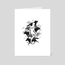 Wolves 02 - Art Card by Reno Nogaj
