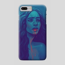 Blood In the Mouth - Phone Case by Naomi Franquiz