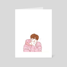 jin - Art Card by meiilloe