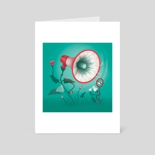 The Power of Voices - Art Card by Daria Skrybchenko