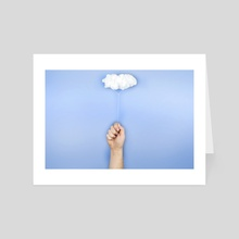 My cloud balloon - Art Card by josemanuelerre