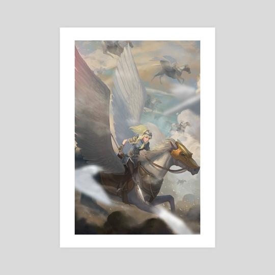 Pegasus Knight by yagaminoue