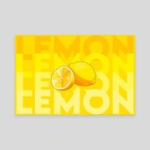 LEMON pt. 2 - Canvas by sunsheine