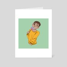 Ghoul Drool - Art Card by Andie Mars