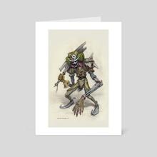 Jeshplook Skurraegis - Art Card by Charles Lister