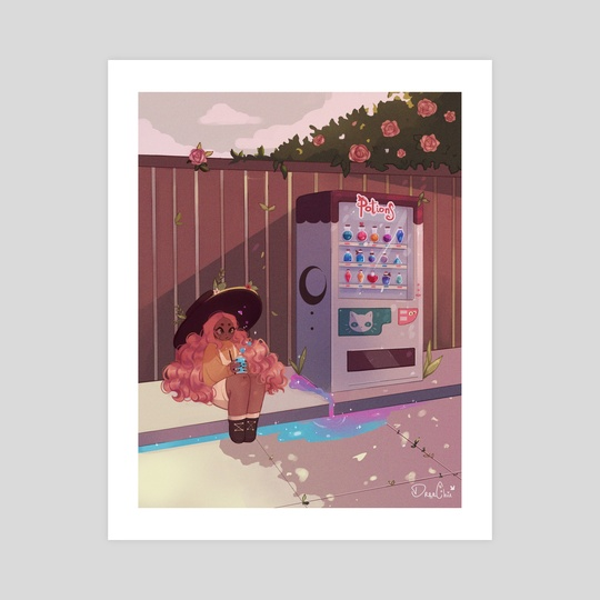 Vending Machine by Dreachie