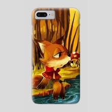 Fox - Phone Case by Lana Chan