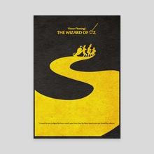 The Wizard of Oz - Canvas by Deniz Akerman