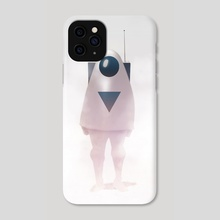 Astronaut - Phone Case by Niv Shpigel