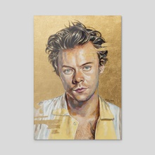 harry styles - Acrylic by Jackie Liu