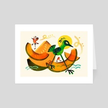 Cantaloupe Island 1964 - Art Card by Dominique Ramsey