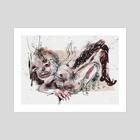 Itch 2 - Art Print by Ellie Harper