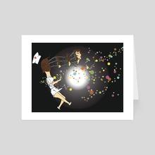 Nirvana - Art Card by soulZa illustration