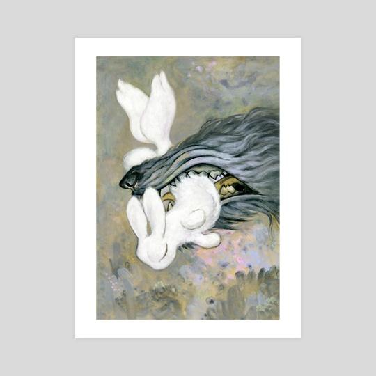 white rabbit by yukari masuike