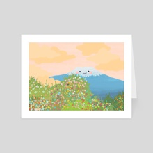 Mt. Wildflower  - Art Card by Jazzmin Smith