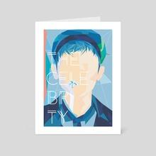 The Celebrity - Art Card by jend art