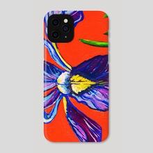 Purple Iris - Phone Case by Tara Jean Art