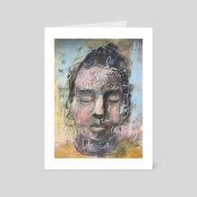 The Traveler  - Art Card by Misty  Mawn