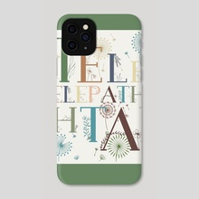 Typography 17 - Phone Case by Michal Eyal