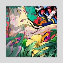 Dorothy's Oak - Acrylic by Joshua Lamb