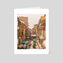 Manarola 1.2 - Art Card by Solmaz Saberi