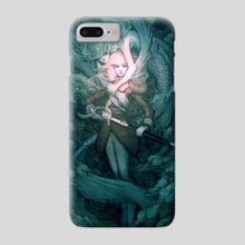 Mermaid - Phone Case by Caitlin Ono