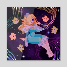 Star Princess - Acrylic by Desirae Salmark
