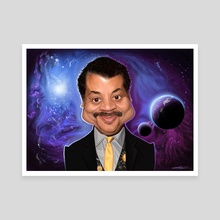Neil deGrasse Tyson - Canvas by Priyatham Sri