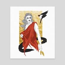 eunoia - Canvas by Laurène Ruimy