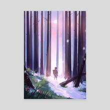 Mizunoto - Canvas by Sze Beh