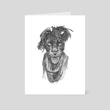 Pantherasta - Art Card by Ronn Kools