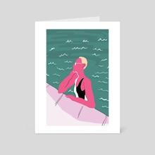 Fashion Illustration 3 - Art Card by Ala Lee